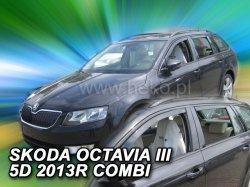 Ofuky oken - Škoda Octávia III 5D r.v. 2013-> (+zadní) combi