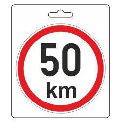 Samolepka omezená rychlost 50km/h (110 mm)