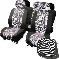Autopotahy na celé vozidlo - LadyLine -Zebra