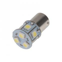 LED BA15s bílá, 12V, 9LED/3SMD