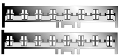 Kabel pro FORD 8-pin od r.92/volné dráty