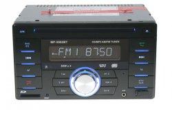 2DIN autorádio CD/USB/SD/AUX, Bluetooth, externí mikrofon, dálkové ovládání
