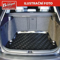 Vana do kufru gumová Škoda Octavia II Sedan (04-)