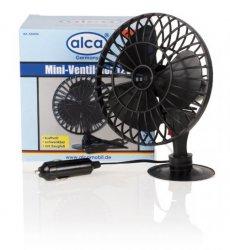 Mini ventilátor 12 V otočný ALCA