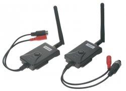 Sada přijímač/vysílač pro digitální bezdrátový VIDEO přenos 4xPIN+nap.konektor