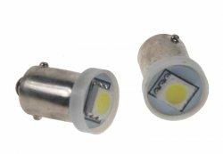 LED BA9s bílá, 12V, 1LED/3SMD