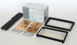2DIN redukce pro Opel Signum -05/ Vectra 03-05 antracit