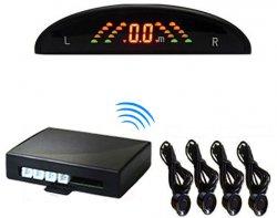 Bezdrátový parkovací asistent - 4 senzory