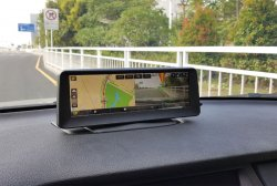 "LCD monitor 8"" s DVR, GPS, Bluetooth, HD přehrávač USB/micro SD"