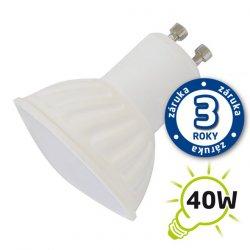 LED žárovka SPOT GU10 5W bílá teplá