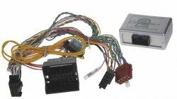 Adaptér ovl. volantu + displej s fcí na parkovací senzory BMW 2006-