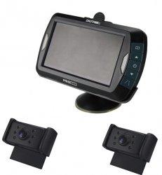 "Bezdrátový 4,3,"" LCD se 2 infra kamerami"