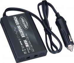 Měnič napětí z 24/230V + USB, 100W