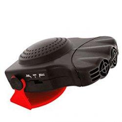 Ventilátor s topením a rozmrazováním skel 12V 150W