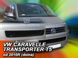 Zimní clona VW Caravela/T5 r.v.2009-> (dolní)