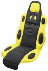Potah sedadla RACE černo-žlutý