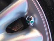 Čepičky na ventilky Tuning Alien 4ks