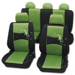 Autopotahy Gecko zelené
