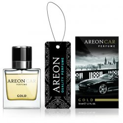 Luxusní vůně do auta AREON PERFUME NEW 50ml Gold