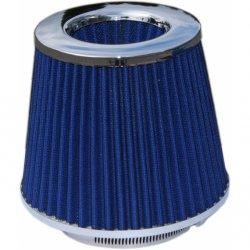 Sportovní vzduchový filtr modrý + redukce 60-90mm ae63ebd386