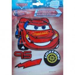 Dekorace CARS - gelová