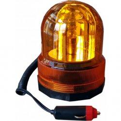 Výstražný maják 12V oranžový