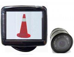 """Kamerový systém 3,5"""" do auta + couvací kamera s nočním viděním"""