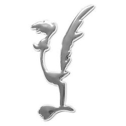 3D logo SPEED BIRD samolepící PLASTIC