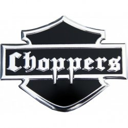 Samolepící dekory - Choppers, aluminium