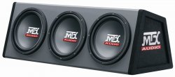 Subwoofer v boxu MTX Audio RT10X3DS