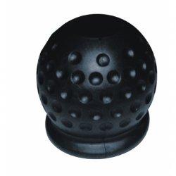 Kryt tažného zařízení gumový, černý