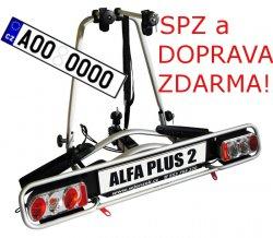 Nosič kol Wjenzek ALFA 2 PLUS na tažné zařízení DOPRAVA A SPZ ZDARMA