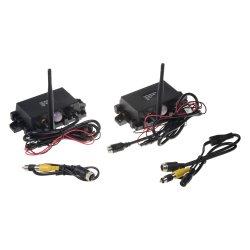 Sada přijímač/vysílač pro digitální bezdrátový VIDEO přenos 4xPIN konektory