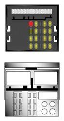 Kabeláž pro HF PARROT/OEM BMW,Mercedes AUDIO 20 MOST