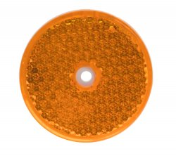 Boční (oranžový) odrazový element - kolečko pr.60mm