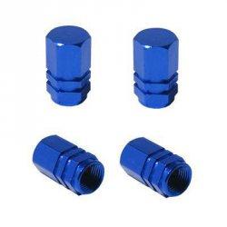 Čepičky na ventilky blue 4ks