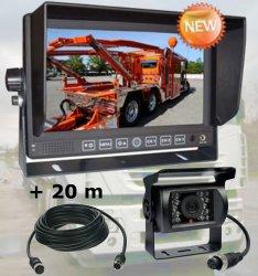 """Profi kamerový systém 7"""" pro kamiony 12/24V - 20m kabel"""