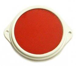 Odrazka červená 80 mm - uši